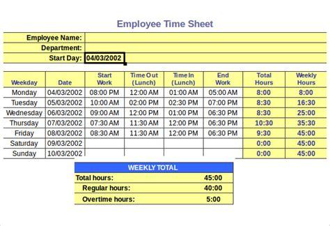 hourly timesheet calculators  excel