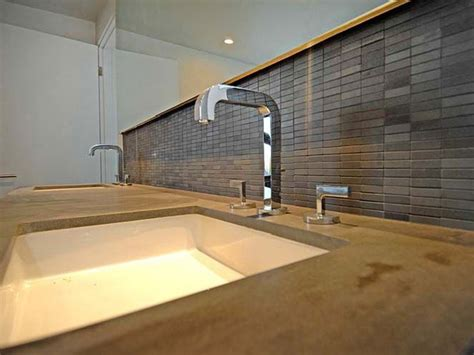 chrome backsplash modern bathroom photos hgtv