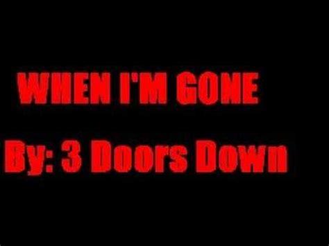 3 doors when i m 3 doors when i m