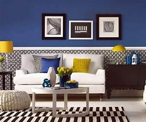 Gemütliche Wohnzimmer Farben : 23 gem tliche wohnzimmer wohnideen mit deko in kr ftigen farben ideen rund ~ Watch28wear.com Haus und Dekorationen