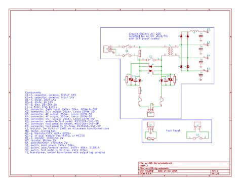 Stick Welder Wiring Diagram by Lincoln Electric Ac 225 Ac225 Ac Dc Stick Tig Welder
