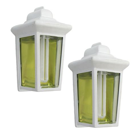 white exterior fluorescent wall light 2 pack ebay