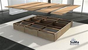 Wasserbett Selber Bauen : suma wasserbett mit schubladen sockel montieren youtube ~ Michelbontemps.com Haus und Dekorationen