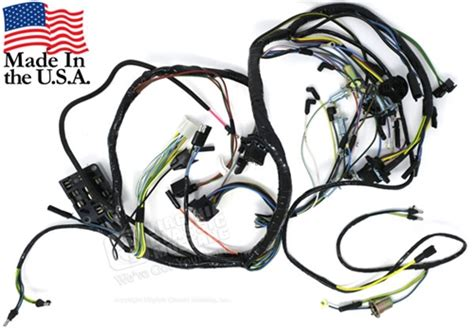 65 Mustang Wiring Harnes by 65 Mustang Dash Wiring Harness With Gauges And 3