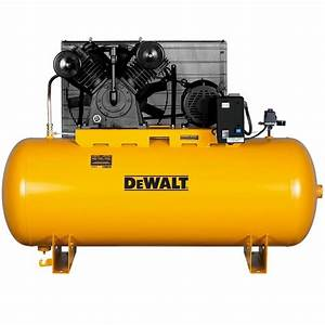 Shop DEWALT 120-Gallon Electric Horizontal Air Compressor