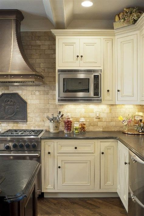 travertine tile backsplash ideas  exclusive kitchen