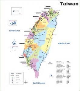 Taipei Taiwan On World Map