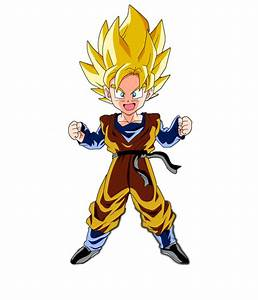 Kid Goten SSJ Render by LUISHATAKEUCHIHA on DeviantArt