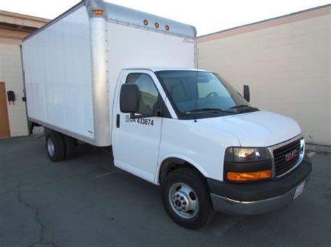 how make cars 2008 gmc savana 3500 electronic valve timing find used 2008 gmc savana 3 500 cutaway 14foot box truck with 60 inch 2 000 lbs lift gate in