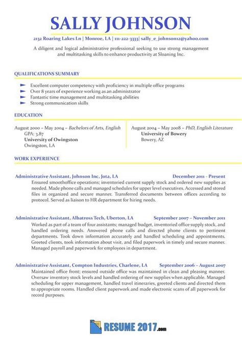 Make A Professional Resume For Free by How To Make A Resume Resume Exles 2018 Powerful Tips