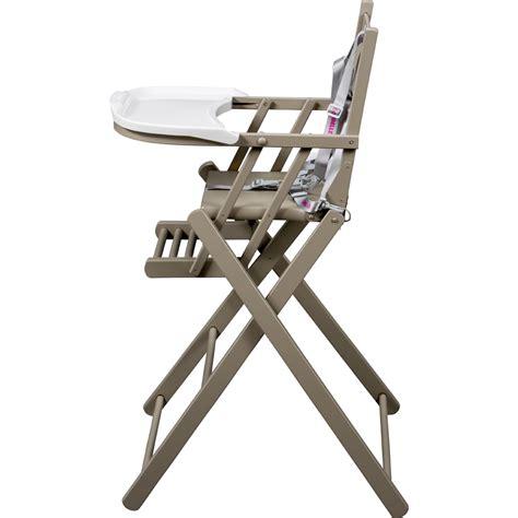chaise haute bébé pliante chaise haute bébé pliante gris de combelle sur allobébé