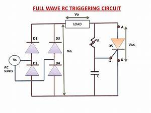 Full Wave Rc Triggering Circuit Explanation