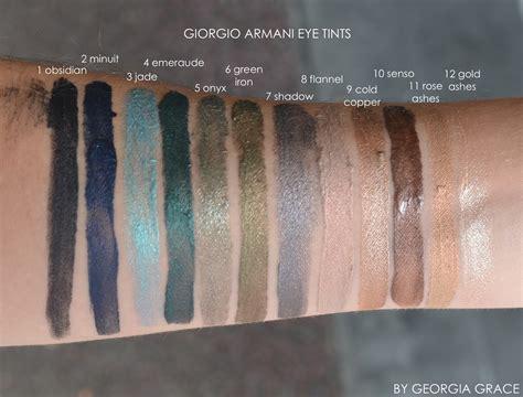 Giorgio Armani Eye Tint. Обзор теней свотчи бюджетные аналоги