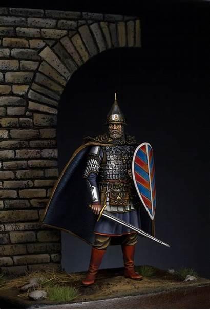 Medieval Russian Warrior Models 75mm Mercury Aleksandr