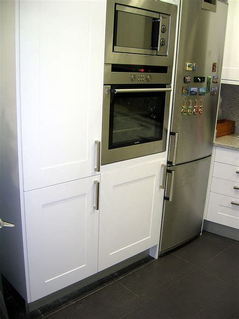columna lavadora horno micro en  estilos de