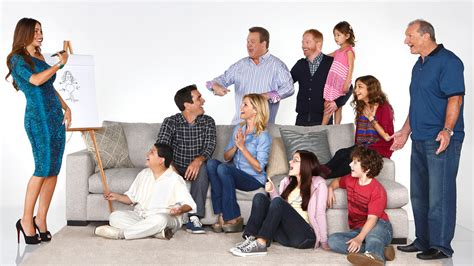 modern family cast and actors meet the characters sky