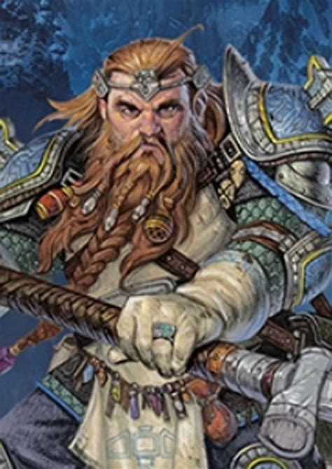 Pregen Characters: Dwarf Cleric (5e) - Wizards of the ...