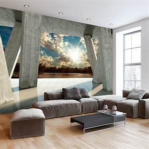 vlies fototapete 3 farben zur auswahl tapeten abstrakt With markise balkon mit 3d tapeten shop