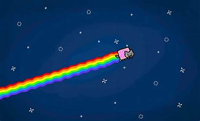 Nyan Cat Meme Cartoon Nyancat Drawings Fun