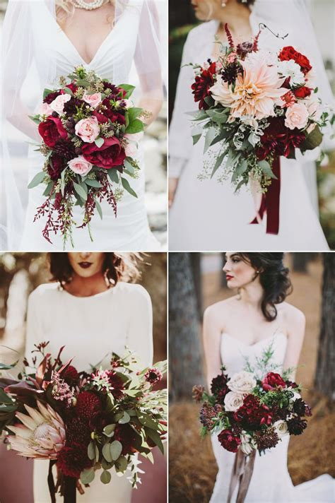 28 Absolutely Beautiful Winter Wedding Bouquets Praise