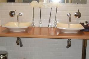 Plan De Travail Salle De Bain : comment nettoyer le plan de travail de salle de bain ~ Premium-room.com Idées de Décoration