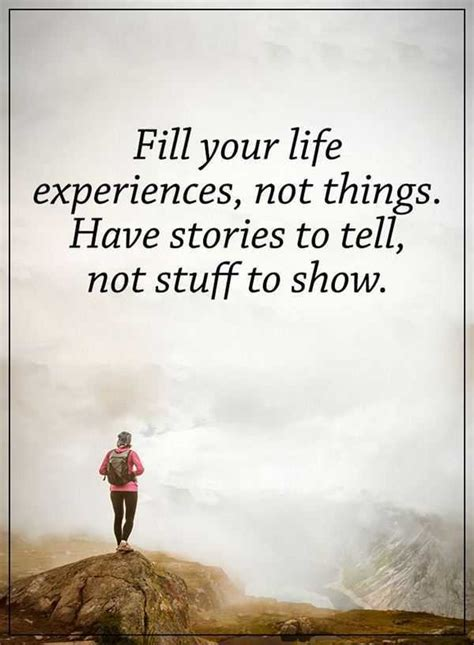 fill  life experience positive life quotes