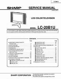 Sharp Lc19sk24u Lcd Tv Sm Service Manual Download
