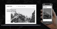 Clean Photo v1.9.3 - Photography Portfolio WordPress Theme