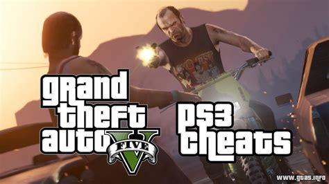 Gta 5 Cheats For Playstation 3 (ps3)