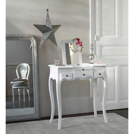coiffeuse en bois blanche l 70 cm mathilde maisons du monde ideas for the house