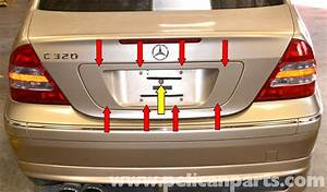 Mercedes-benz W203 Locked Trunk Access