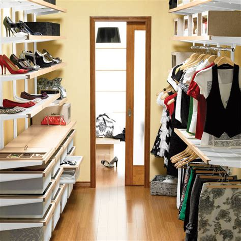 attractive small walk in closet organization ideas