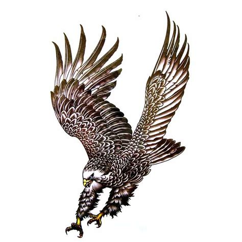 Tatouage Ephemere Aigle Oiseaux