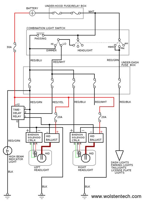 Tdrxn Automotive Time Delay Relay Installation Instructions