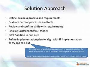 project initiation document With solution approach document template