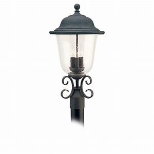 sea gull lighting 8259 46 oxidized bronze trafalgar 3 With outdoor lamp post glass replacements