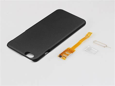 dual sim card  iphone     case