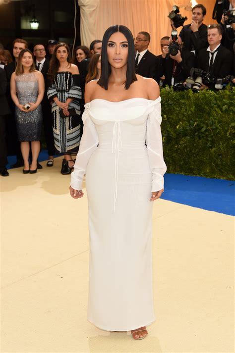 Kim Kardashian Looks Prettier Than Ever at the 2017 Met ...