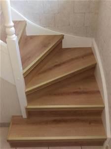 Renovation D Escalier En Bois : r novation d escalier bois dizy 51530 maytop habitat ~ Premium-room.com Idées de Décoration