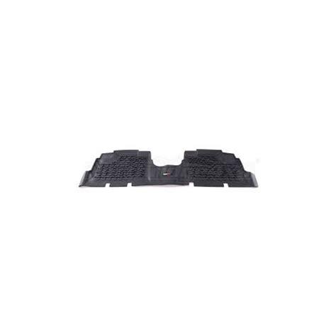 rugged ridge jk wrangler 4door rear floor liners