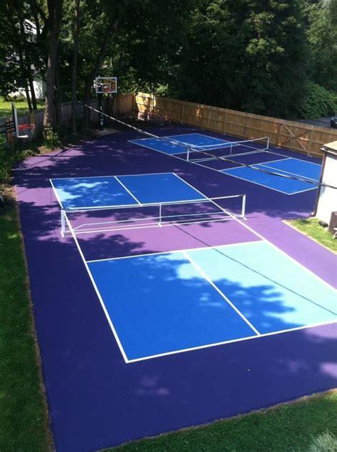 backyard pickleball court builder