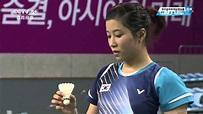 2014仁川亞運女團Final WS03王適嫻(CHN)VS裴延姝(KOR)1-3 - YouTube