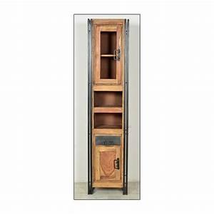 Holz Für Badezimmer : hochschrank f r das badezimmer aus holz ~ Frokenaadalensverden.com Haus und Dekorationen