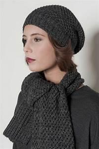 Echarpe Femme Laine : bonnet echarpe femme laine ~ Nature-et-papiers.com Idées de Décoration