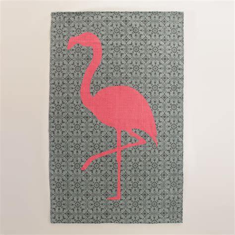 5x8 flamingo reversible indoor outdoor rug world market