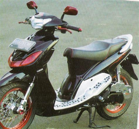 Modifikasi Mio Sporty Hitam by Modifikasi Motor Yamaha 2016 Modifikasi Yamaha Mio Sporty