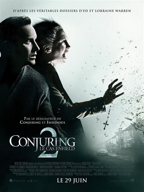 Заклятие 2 / the conjuring 2 (2016, фильм). The Conjuring 2 Movie - French Poster and Audio Recordings : Teaser Trailer