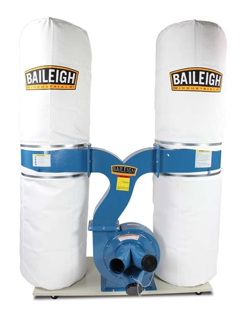 dust collector dc  baileigh industrial