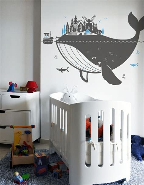 Creative Wall Design With Nursery Wall Decals