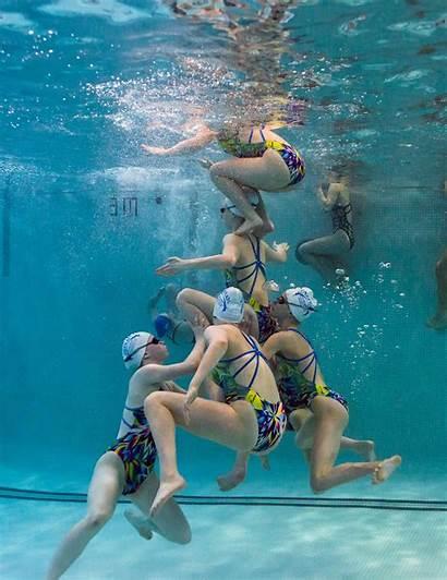 Artistic Swimming Synchro Nepean Underwater Swim Club